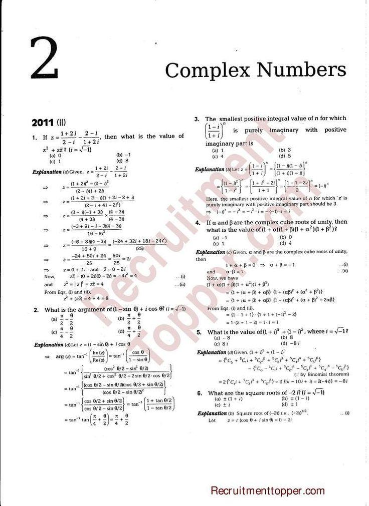 20 Complex Numbers Worksheet Pdf in 2020 Complex numbers