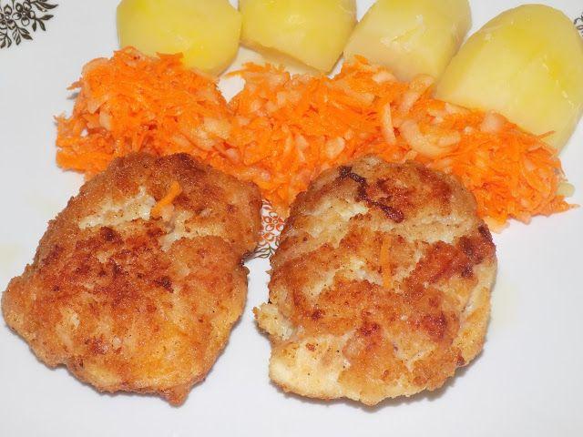 magiczna kuchnia Kasi: Kotlety siekane z piersi kurczaka