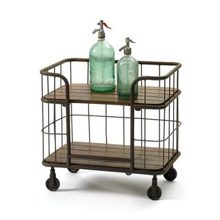Shop for Hip Vintage Farmhouse Bar Cart. Get free delivery at Overstock.com - Your Online Furniture Shop! Get 5% in rewards with Club O!