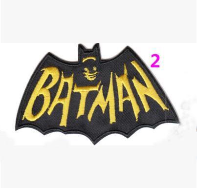 Горячая распродажа! Вышивка фильмы патчи 2016 бэтмен против супермена патчи железа на 10 x 6.5 см классические фильмы