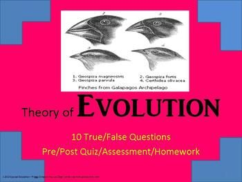 """This can now be purchased in my """"Biology Quizzes Bundle"""" for more than 50% off the individual price!  All graphics are author created or public domain.  Created in PowerPoint form.  My Special Education students could never take the regular Biology tests that the core curriculum included - the print was too small - too many questions - questions were more """"trick"""" questions than actual content knowledge - answers were required to be short essay form."""