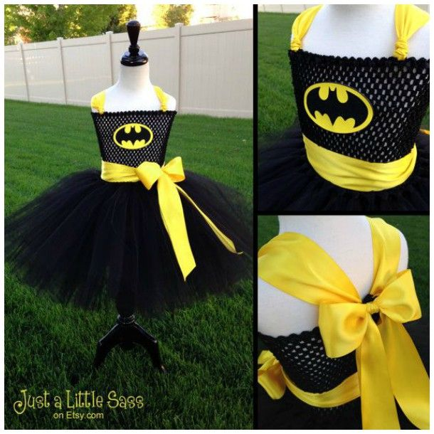 Vestido de Tutu do Batman!