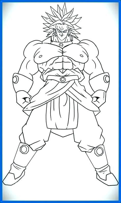 Resultado De Imagen Para Broly Para Colorear Dragon Ball Image Dragon Ball Super Art Super Coloring Pages