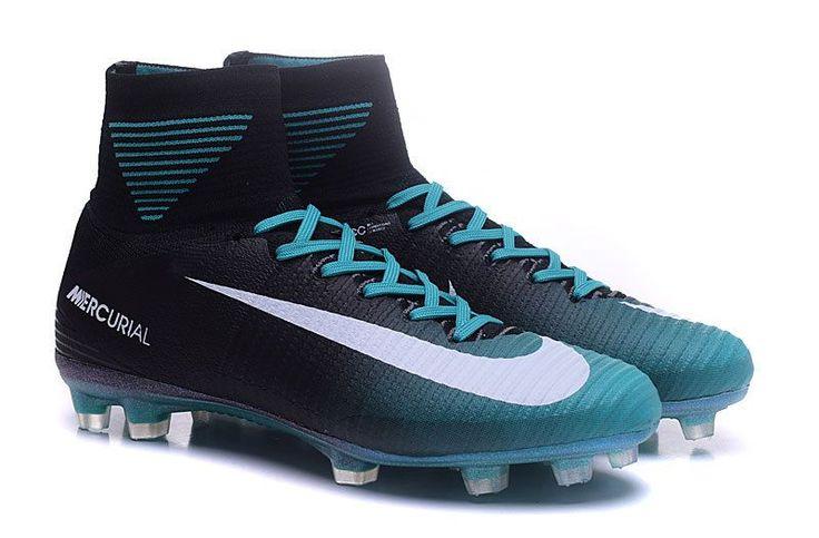 Nike Mercurial Superfly V FG Blue-Black