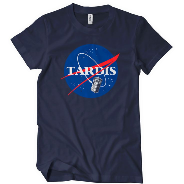 Nasa Tardis T-Shirt Funny Cheap Tees TextualTees.com - 2