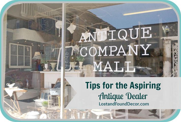 Renting a space and running an antique booth can seem overwhelming. Here are some tips on how to be an antique dealer, and a few things to consider in making that decision.
