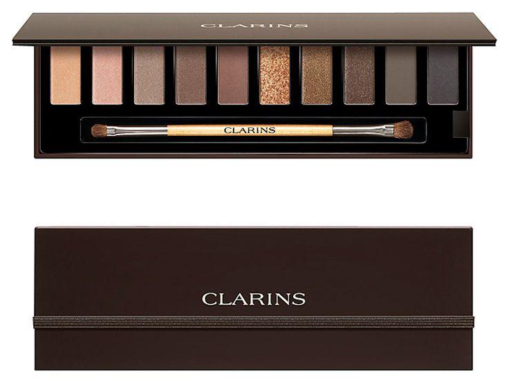 Clarins The Essentials Eyeshadow Pallete holiday 2014