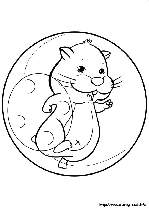 Zhu Pets Coloring Picture Book