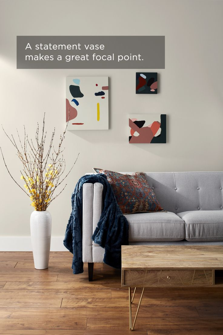 Swatch and Learn: Why not give your living room a little more life this weekend? Follow these three simple DIY steps to add juuuust the right amount o…