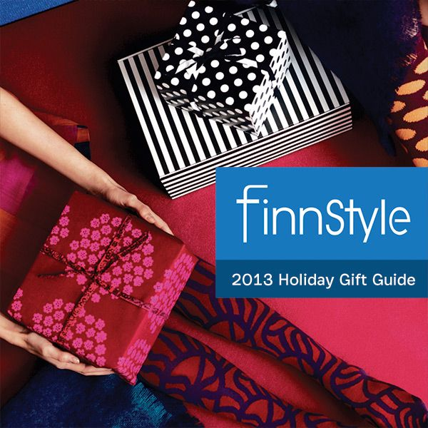 Modern design fans will love FinnStyle's 2013 Holiday Gift Guide. Find something for yourself or anyone on your list.