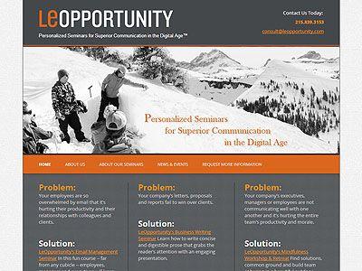 wordpress blog design  by NV Studios