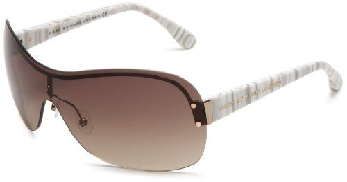 best - free - Marc by Marc Jacobs Women's MMJ 241/S 0WA0 Cat Eye Sunglasses,Light Gold  White Grey Frame/Brown Gradient Lens,One Size Marc by Marc Jacobs http://www.amazon.com/dp/B004OBYAVQ/ref=cm_sw_r_pi_dp_NNQNtb0JYENEP71H