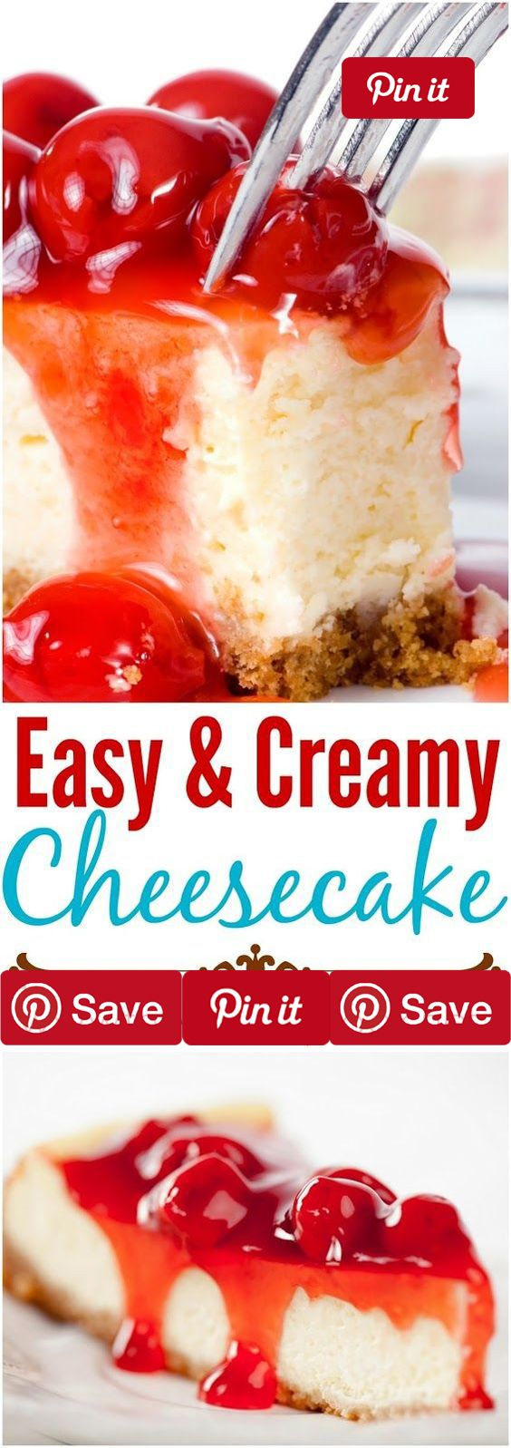 Easy and Creamy Cheesecake 1.5 hrs to make serves 6 This is one of the easiest cheesecakes you will ever make. Cross my heart. And forget about all those cheesecake recipes from the past where diys Ingredients Vegetarian Refrigerated 2 Eggs Condiments tbsp Lemon juice Baking & Spices 19 tbsp Sugar tbsp Vanilla extract Snacks 1 cup Graham cracker crumbs Dairy 1/3 cup Butter 2 8 oz blocks Cream cheese 3 tbsp Sour cream