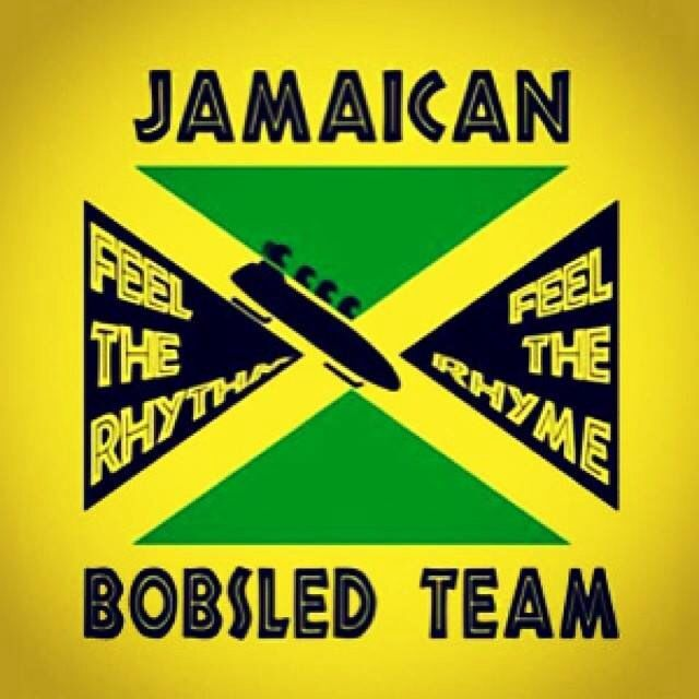 Jamaican Bobsled team... We likkle but we tallawah.