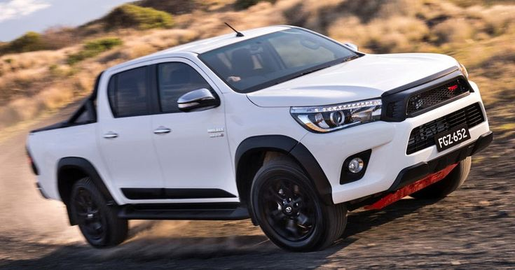 2017 Toyota Hilux TRD Pack Brings Enhanced Look For Australia, Retails From $58,990 AUD #Australia #New_Cars