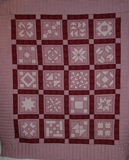 """Free Chicken Scratch Quilt Pattern 