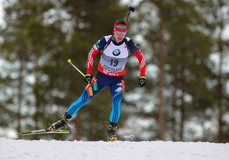 15.03.2014, Kontiolahti, Finland (FIN): Evgeny Ustyugov (RUS), Fischer, Rottefella, Swix, adidas- IBU world cup biathlon, sprint men, Kontiolahti (FIN). www.nordicfocus.com. © Laiho/NordicFocus. Every downloaded picture is fee-liable. NordicFocus