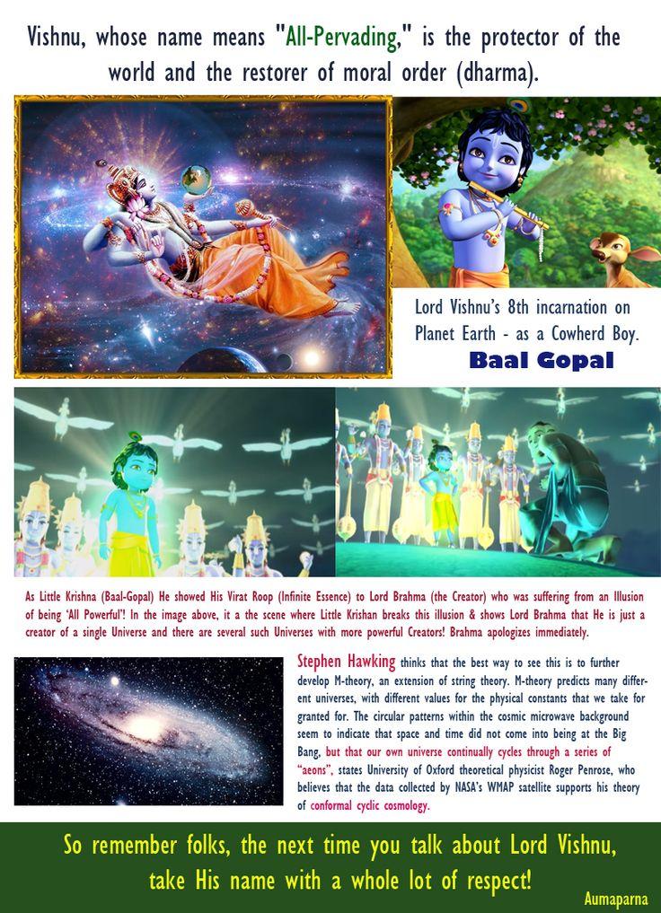 SHri Vishnu - The Preserver of the Universe.
