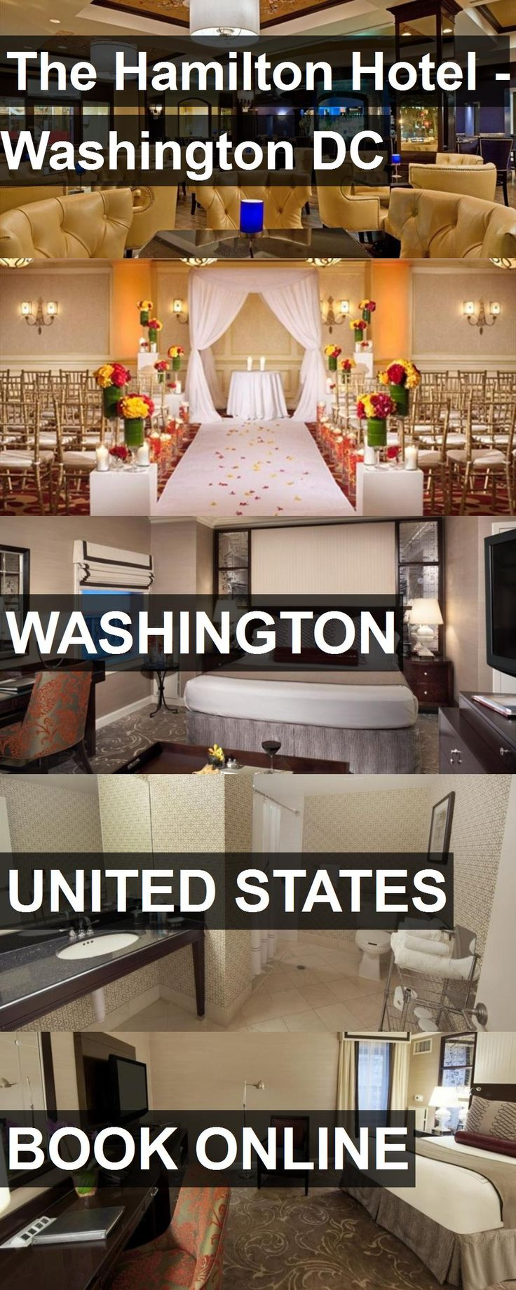 The Hamilton Hotel - Washington DC in Washington, United States. For more information, photos, reviews and best prices please follow the link. #UnitedStates #Washington #travel #vacation #hotel