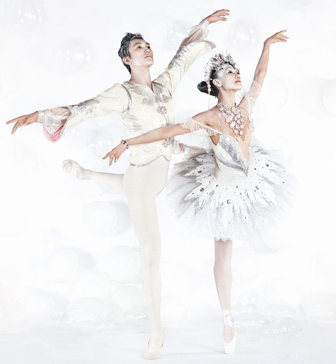 Queensland Ballet's The Nutcracker  Creative Direction: Designfront Photography: Harold David Styling: Peter Simon Philips Make-up: Amber D for M.A.C. Hair: Kimberley Forbes for O&M