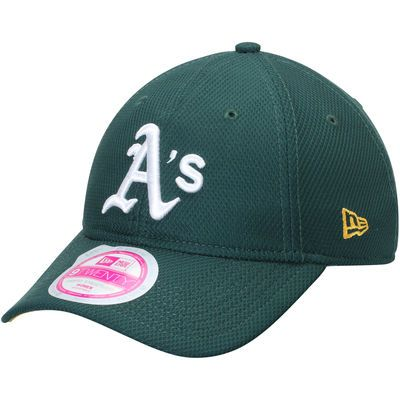 Oakland Athletics New Era Women's Tech Essential Diamond Era 9TWENTY Adjustable…