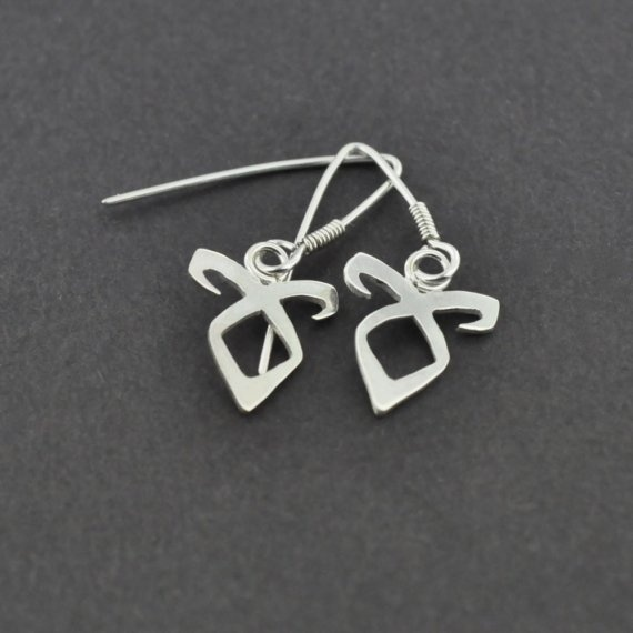 Mortal Instruments Angelic Power Rune Earrings.  I couldn't decide to put this on my book board or my fashion board. But I want!