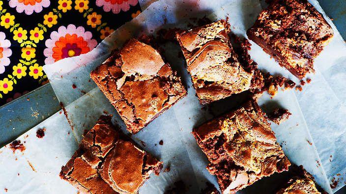 Chocolate peanut butter brownie recipe : SBS Food