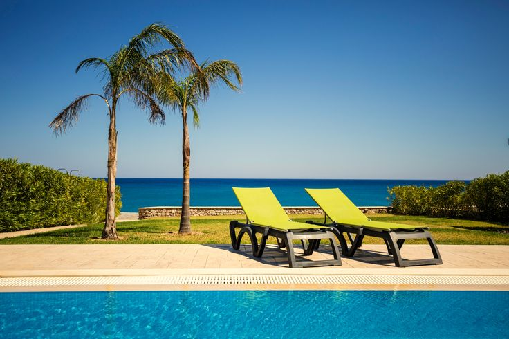 Rent a Villa in Rhodes, Greece Luxury vacation rentals on the beach with private  access to it and private Pools in Rhodes
