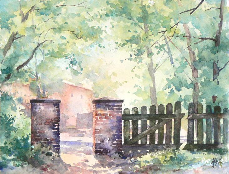 The gate in Lagow by ~mashami on deviantART