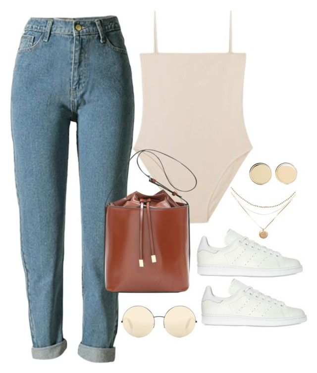 """""""Untitled #4076"""" by magsmccray on Polyvore featuring adidas Originals, Victoria Beckham and Givenchy"""