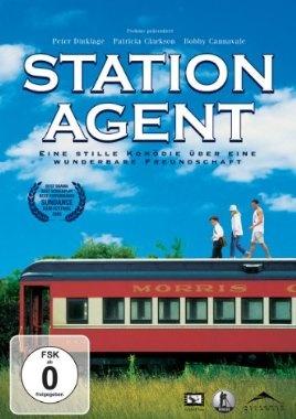 Station Agent  2003 USA      Jetzt bei Amazon Kaufen Jetzt als Blu-ray oder DVD bei Amazon.de bestellen  IMDB Rating 7,8 (34.170)  Darsteller: Peter Dinklage, Paul Benjamin, Jase Blankfort, Paula Garcés, Josh Pais,  Genre: Comedy, Drama,  FSK: o.Al.