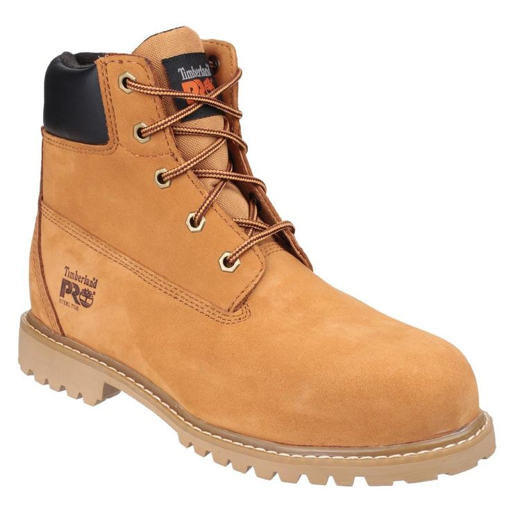 Timberland Pro Waterville Honey Nubuck Leather Ladies Safety Work Boots