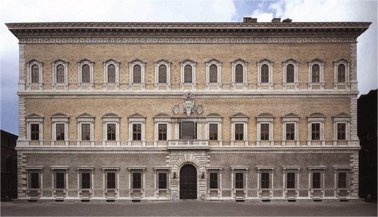 antonio da sangallo il giovane + michelangelo buonarroti / palazzo farnese . roma