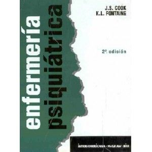 Enfermería psiquiátrica / Cook, J. S.  http://mezquita.uco.es/record=b1069927~S6*spi