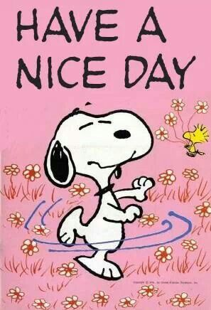 Have a Nice Day! to my wonderful sweet and kind DIL...I know you love Snoopy!