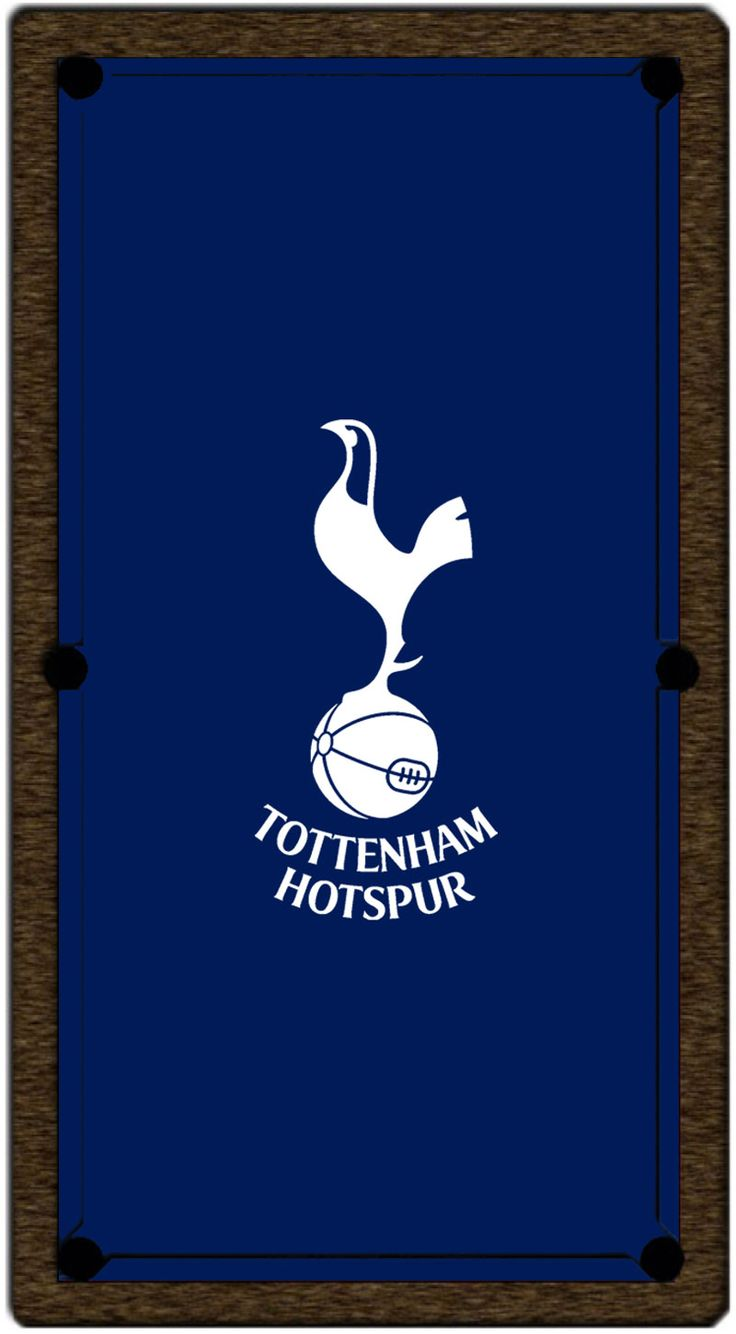 Tottenham Hotspur FC Pool Table Cloth - 6ft | Home Leisure Direct