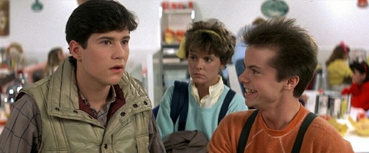 FRIGHT NIGHT (1985) William Ragsdale, Amanda Bearse and Stephen Geoffreys