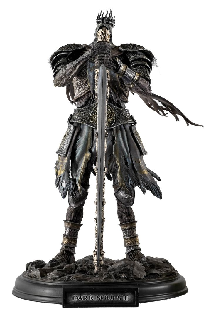 The Dark Souls III Prestige Edition Lord of Cinder Statue is a highly detailed…