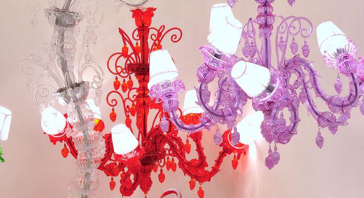 Melt Meee World. Hand made murano glass chandelier