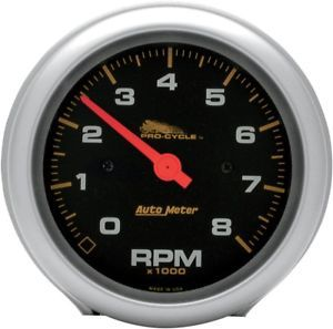 a auto meter 19201 pro cycle high rpm tachometers 3 38in