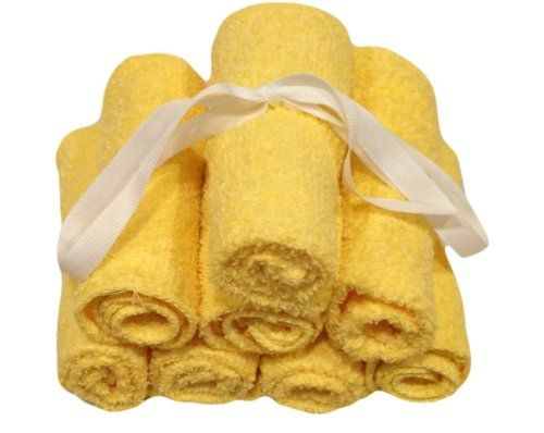 Multi Pack Washcloths - Yellow- 12x12 - 100% Pure Ringspun Cotton Terry - 8 Pack - Looks Great - Easy Care Machine Wash. We offer a complete range of luxury, spa, hotel, resort, bath, beach, kitchen, decorative, and kids linens. A set of 8 washcloths. 100% Pure Cotton Terry. Dimensions: W: 12-inch by D: 12-inch. Towels are Soft and easy to wash and dry. Very durable, ideal product that you can trust. We offer uncompromising quality at the lowest cost, Shop with confidence and trust.