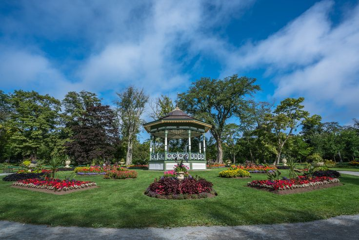 The Halifax Public Gardens in Nova Scotia