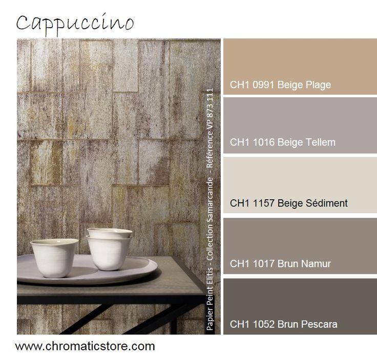 Cette harmonie tout en simplicité et délicatesse permettra de créer une atmosphère neutre mais de grand style. www.chromaticstore.com #inspiration #couleur #beige