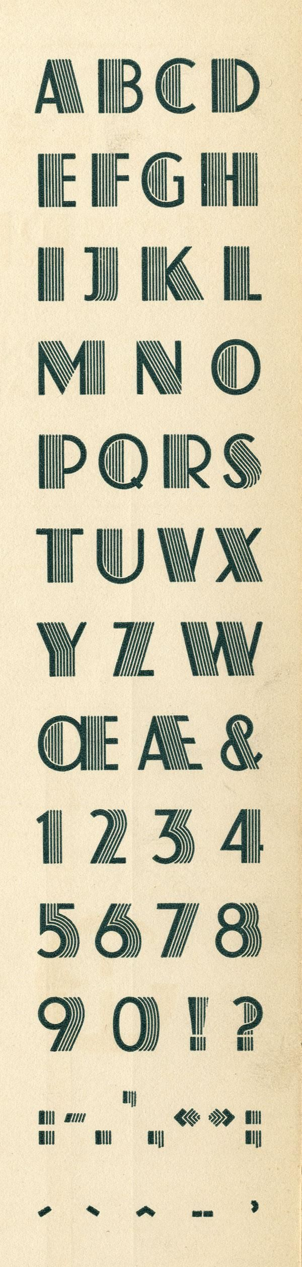 Atlas Exemple, Schaeffer, K. H., Fonderie Typographique Française #typography