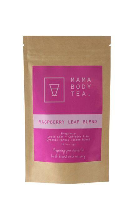 Raspberry Leaf Tea Blend, Organic Herbal Tea by Mama Body Tea, buy at Thistle and Roo
