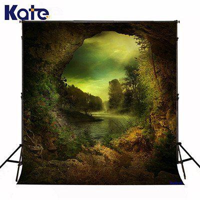 Kate fantasy backdrop green scenery light for chidren