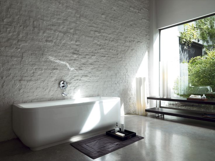 76 besten Badkamer Bilder auf Pinterest Badezimmer, Bad - badezimmer mit grauen fliesen