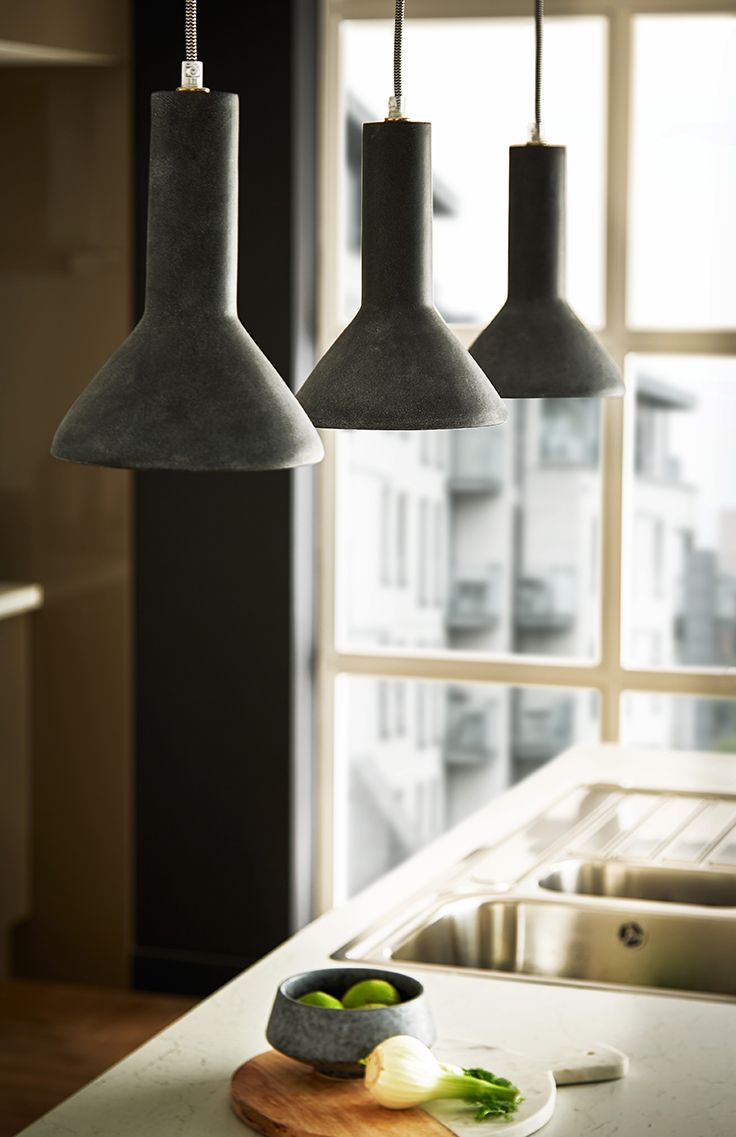 24 best kitchen lighting images on pinterest kitchen lighting statement pendant lights in the kitchen add a practical but stylish feature here shown on