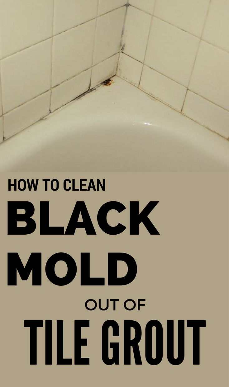 22 best cleaning images on pinterest cleaning hacks cleaning and how to clean black mold out of tile grout 101cleaningtips fandeluxe Images