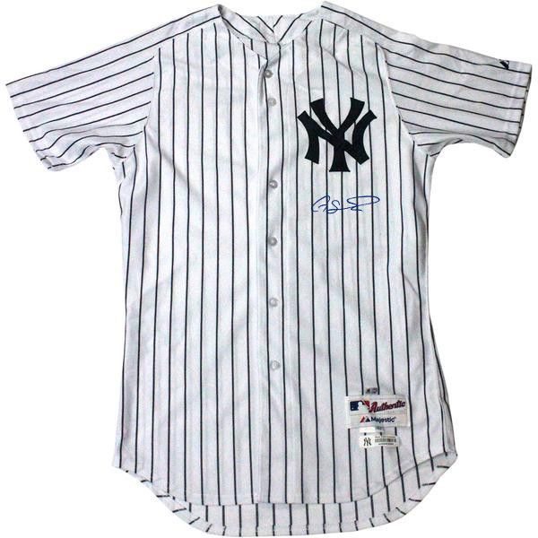 34d559179 ... shop gary sanchez signed new york yankees authentic pinstripe jersey  signed on front steiner gary sanchez